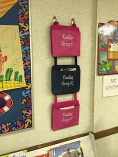 organize your classroom with thirty-one oh snap pockets.