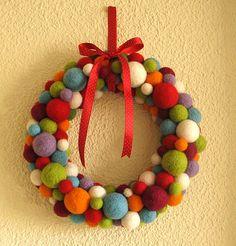Corona tu puerta con este DIY de Navidad!