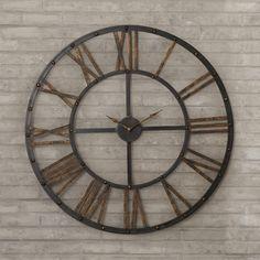 Exeter Wall Clock   Joss & Main