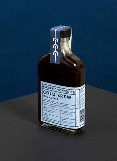 Here Design | Electric Coffee Company #graphicdesign #branding #identity #identitydesign #packagingdesign