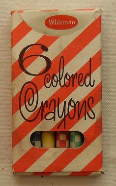 1960s Crayon Packaging