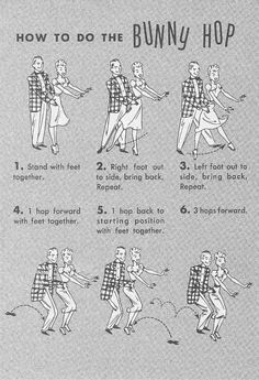 "Vintage Dance Craze-Bunny Hop - - Everyone Goes to Mick's: Prom Night 1958 - ""If Dreams Came True"" 1950s Theme Party, Fifties Party, 50s Theme Parties, Retro Party, Party Themes, Party Ideas, Diner Party, 50s Sock Hop, Grease Party"
