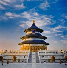 Temple of Heaven, Beijing. China