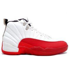 Nike Air Jordan 12 (XII) Original (OG)-White/Varsity Red-Black