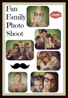 Fun Family Photo Shoot