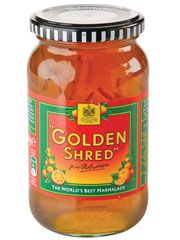 Golden Shred Marmalade.  On toast, almost every morning - for years!