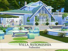 Villa Astonishia by Pralinesims at TSR • Sims 4 Updates