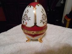 Hand Painted Limoges trinket box (Imperial) (04/07/2013)