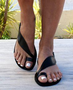 ARTEMIS 2 sandals/ ancient Greek leather sandals/ by Leatheropolis
