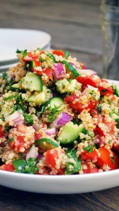 Quinoa Shirazi Salad