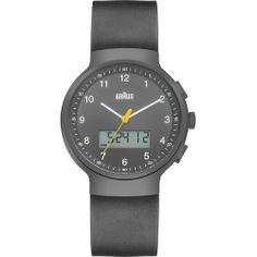 Braun Analog-Digital Wrist Watch - Gray Face/Gray Band - BN-159GYGYG