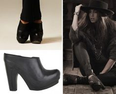 Allsaints Anat Clogs. Women's UK 4. RRP £225!!  Now £79.99