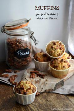 Recette Muffins Chocolat Blanc, Sirop d'érable et Noix de Pécan - muffinzlover.blogspot.fr