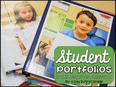 Using student portfolios in a kindergarten classroom
