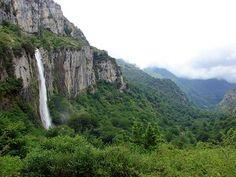 Cascada del Asón - Oficina de Turismo Asón, cantabria. rutas por bosque en otoño