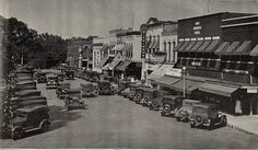 #ThrowbackThursday here's the east side of the square in 1931!