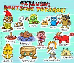Alexander Pfefferle hat aber noch viel mehr deutsche Pokémon gezeichnet. Hier sind alle anderen: