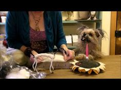 How to Needle Felt a Pony: Episode 2 - Wrapping by Sarafina Fiber Art