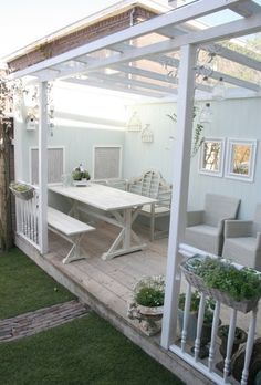 This part of Claire's garden make over is about the porch. First we got rid of the old henhouse (later we'll show you the new henhouse). The...