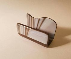 Fused Glass Business Card Holder by Sandra LaFond