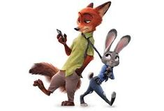 Zootopia 2016 -- Ginnifer Goodwin as Judy Hopps and Jason Bateman as Nick Wilde. ~~~Animation (not to be confused with Disney/Pixar) had their biggest opening of all-time as Zootopia exploded on the scene -- Zootopia Nick E Judy, Zootopia Nick Wilde, Zootopia 2016, Zootopia Movie, Disney E Dreamworks, Disney Pixar, Disney Characters, Disney Wiki, Disney Love