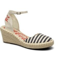 Espadryle damskie Coca-cola shoes - Sarenza