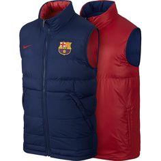 """FC Barcelona Weste Core    Deine FC Barcelona Weste Core ist jetzt bei uns erhältlich. Deine besteht aus 100%Polyester und liefert somit beste Qualität. FC Barcelona ist eine bekannte und erfolgreiche Mannschaft. Zeige mit der FC Barcelona Weste Core von welchem Verein DU bist!""""    Hersteller: Nike  Team: FC Barcelona  Material: 100%Polyester..."""