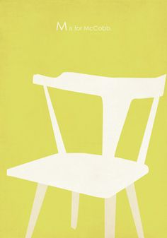 M is for McCobb Planner Chair. Amy Sullivan on Etsy.