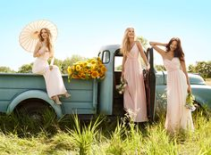 Bridesmaids and Special Occasion Dresses by Jim Hjelm Occasions - Style jh5563, jh 5553 and jh5564