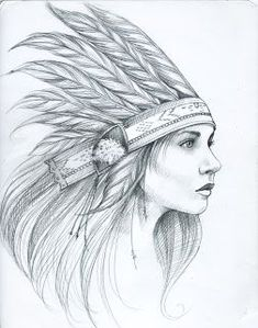 american girl indian tattoo - Szukaj w Google
