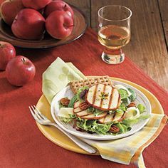 Grilled Apple Salad | MyRecipes.com