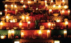 Day of the dead wedding decoration inspiration.