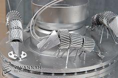 STC Scrap Sculptures 2013 - Shrimp Bowl (closeup)