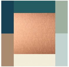 Color Schemes Design, Color Schemes Colour Palettes, Kitchen Colour Schemes, Living Room Color Schemes, Kitchen Colors, Navy And Copper, Blue And Copper, Copper Colour Palette, Houses