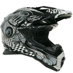 THH TX-25 KingEyes Helmet Black Grey