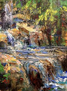 Art Talk - Julie Ford Oliver: Waterfall and Demo