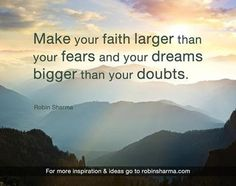 Faith and dreams