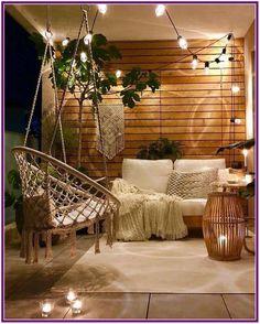 New Apartment Patio Bohemian Living Rooms 27 Ideas Outdoor Balcony, Outdoor Rooms, Backyard Patio, Outdoor Living, Outdoor Decor, Outdoor Pergola, Outdoor Furniture, Backyard Landscaping, Modern Pergola