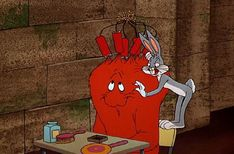 Gossamer, the Red Monster and Bugs Bunny (Looney Toons) Old School Cartoons, Old Cartoons, Disney Cartoons, Popular Cartoons, Looney Tunes Bugs Bunny, Looney Tunes Cartoons, Classic Cartoon Characters, Classic Cartoons, Cartoon Shows