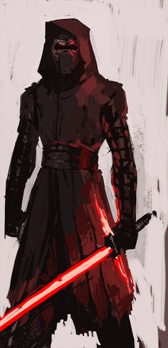 theboyofcheese: Quick sketch of the obviously best character of Force Awakens.(done from memory because i am L A Z E)