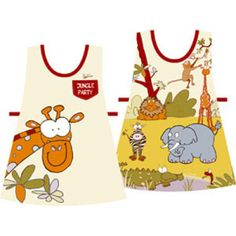 Little Charley Bear Childrens Tabard// Apron Brand New Painting// cooking
