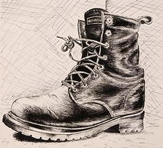 A cross-contour drawing uses lines that seem to move along the surface of the objects in the composition. These lines emphasize the volume of the objects by wrapping around them. Contour Line Drawing, Shading Drawing, Texture Drawing, Basic Drawing, Composition Drawing, Contour Drawings, Drawing Tips, Pencil Art, Pencil Drawings