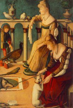 The Venetian Look in the Carpaccio Era (pre 1500 to 1510), Page Two - Venus' Wardrobe
