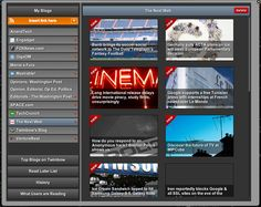 Integrated news reader - 1/2 #color #colorful #twimbow