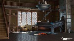 Benbow Inn, Sandra Castela on ArtStation at https://www.artstation.com/artwork/qE6ly