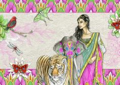 Created using Daisytrail's 'Indian Dreams' kit.