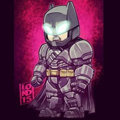 BvS: Armored Bats!!! I LOVE how they used adapted the armor from...