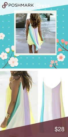 Adorable Beachy Dress Ladies this dress is adorbs.  Have a medium and large Dresses