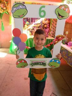 Teenage Mutant Ninja Turtles Birthday Party Ideas | Photo 5 of 43 | Catch My Party