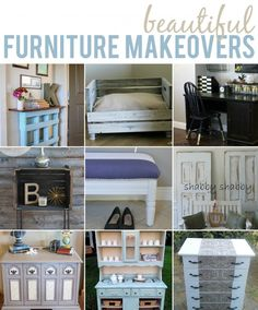 10 Beautiful DIY Furniture Makeovers #diy #furniture #furnituremakeovers